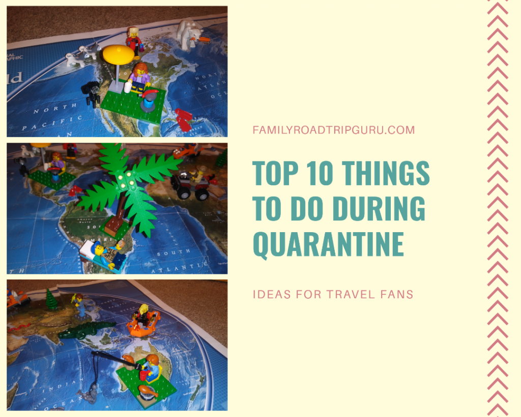 quarantine during things travel trip road